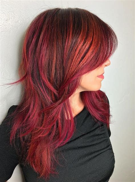 hairstyles with orange highlights 152 best redhead inspiration images on pinterest