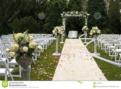 Dress Rodat wedding carpet stock photos image 14765673