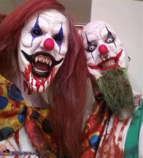 Kitchen Devil Knives Uk evil killer clowns couple s costume homemade my