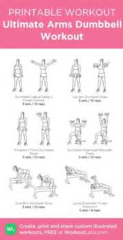 Ideas about dumbbell workout on pinterest full body dumbbell workout