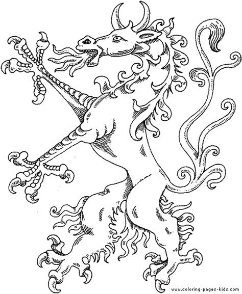 Free Coloring Pages Of Paint Dragons Midevil Dragons Coloring Pages