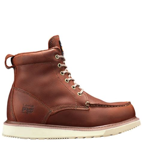 wedge timberland boots s timberland pro 174 6 quot soft toe wedge boots timberland