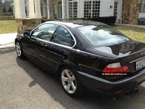 2006 bmw 325ci coupe sport black manual transmission