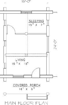 weekend cabin floor plans log houses house plans and logs on