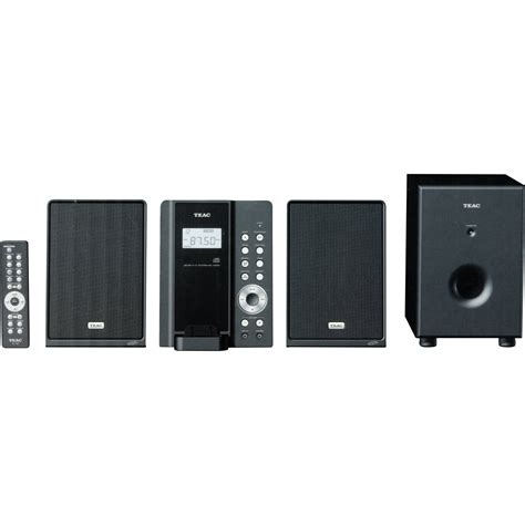 Teac Mc Dx220i Slim Cd System And Ipod Dock by Teac Mc Dx50i Slim Cd System Mcdx50i B H Photo
