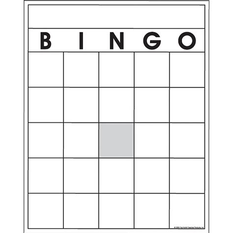 free template of a bingo card free blank bingo cards for teachers infocard co