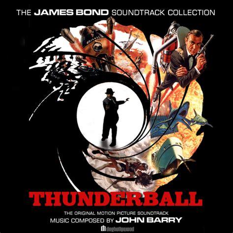 film seri james bond film thunderball original motion picture soundtrack by