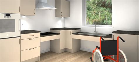 Disabled Kitchen Design Disability Kitchens Dm Design