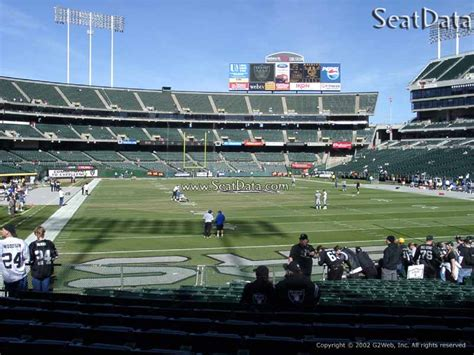 Oakland Section 8 by Oakland Coliseum Section 108 Oakland Raiders