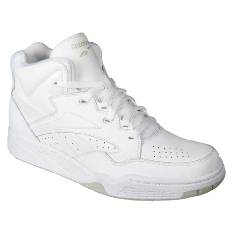 wide high top basketball shoes reebok s bb4600 basketball athletic shoe white wide