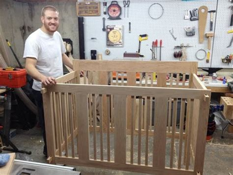 How To Build A Baby Crib by Baby Crib Wood Plans Pdf Woodworking