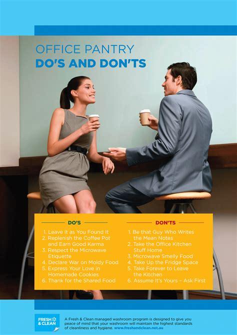 workplace hygiene etiquette posters fresh clean