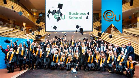 International In Geneva Mba by Eu Business School Graduation 2015 International