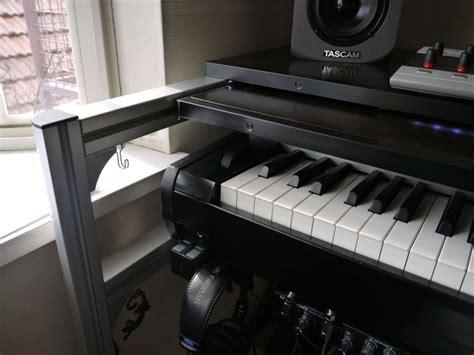diy music studio desk diy studio desk keyboard workstation under 100