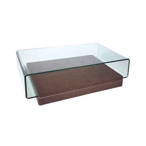 atom wood and glass coffee table review compare prices