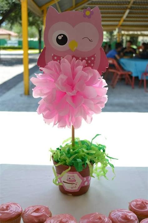 centerpiece ideas to make owl centerpiece ideas owl themed baby shower