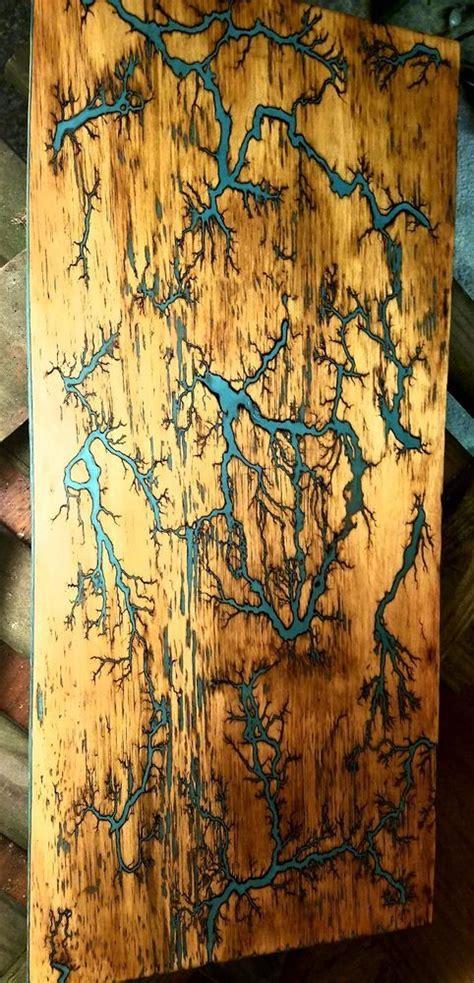 lichtenberg wood burningfractal burnwood art wood