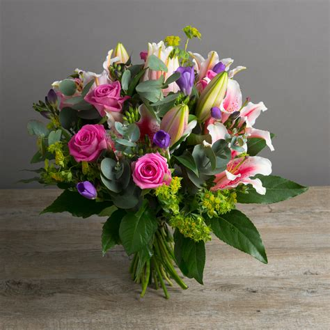 Flower Bouquet by Pink Collection Honey Bee Flower Bouquet Flower