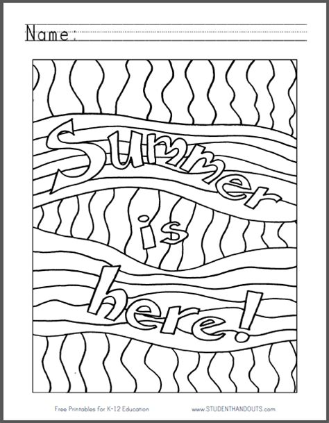 coloring pages for end of school year here s a end of the year coloring page to be enjoyed