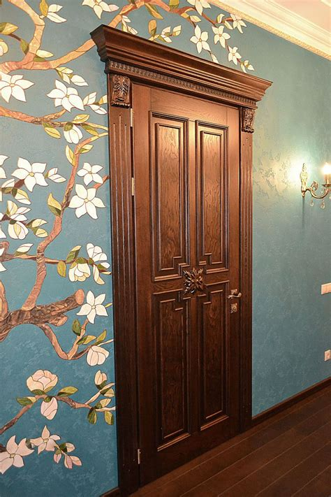 Luxury Interior Doors In Classic Antique Baroque Style Luxury Interior Doors