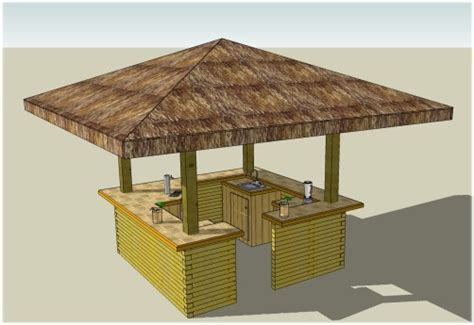 Tiki Bar Building Plans Bar Design Plans About Our Plans Bar Gear
