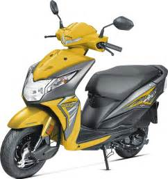 all new 2017 honda dio with bs4 engine aho launched at rs