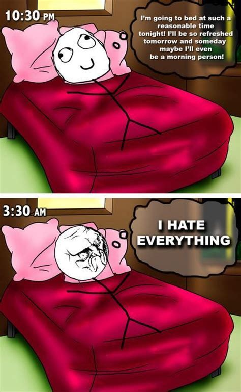 Meme Bed - funny memes going to bed early le rage comix pinterest