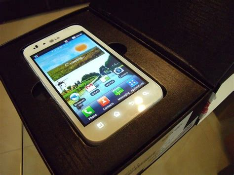 Hp Lg P970 Optimus White Limited White Lg Optimus Black P970 Android Wifi 5mp Int 2gb 8gb Johor End Time 1 16 2012 9