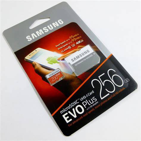 Micro Sd Samsung Evo samsung micro sd evo 256gb memory card review overclock part 5