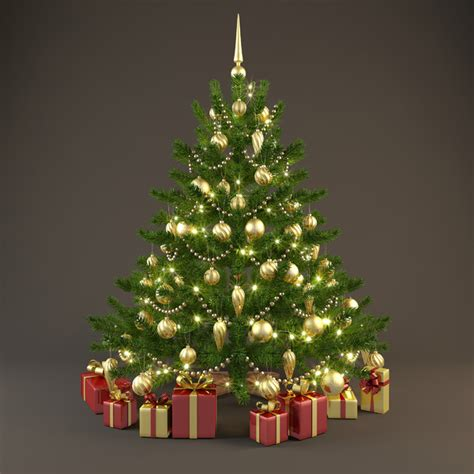 christmas tree best of 3d models