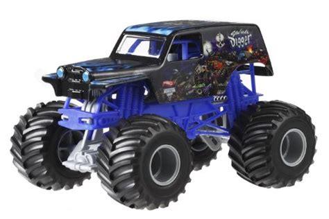 1 24 scale monster jam trucks wheels monster jam son uva digger die cast vehicle 1