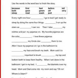 reading and writing worksheets for 1st grade kristal