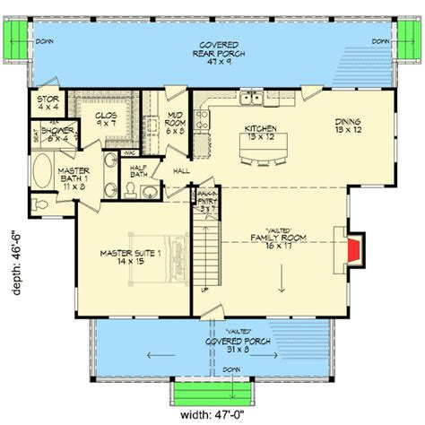 House Plans With 3 Master Suites by Plan 68400vr Cottage Escape With 3 Master Suites Photo