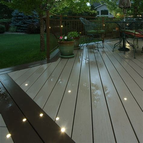 led deck light kit outdoor recessed deck dot led light kit dekor 174 lighting