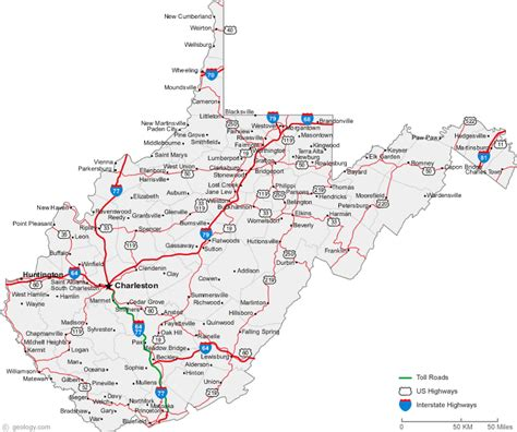 map of west virginia west virginia crazy4cing