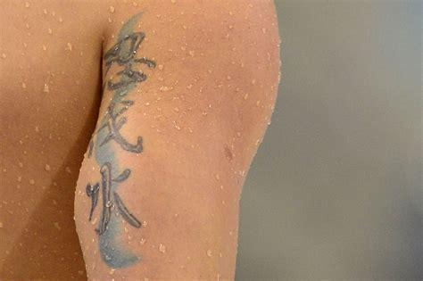 tattoo swimming olympic ink 50 more tattoos on the world s best athletes