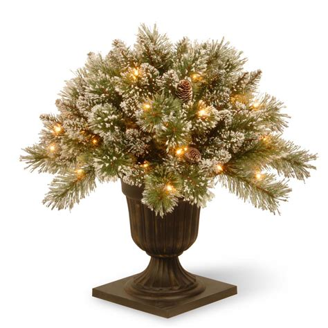 lighted tree in urn 4 lighted tree in urn stunning glittery gold