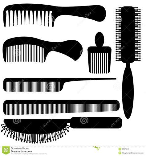 Kitchen Designer Tool comb silhouette vector stock photo image 32478510