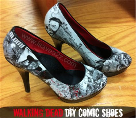 diy comic shoes diy comic book shoes tutorial isavea2z