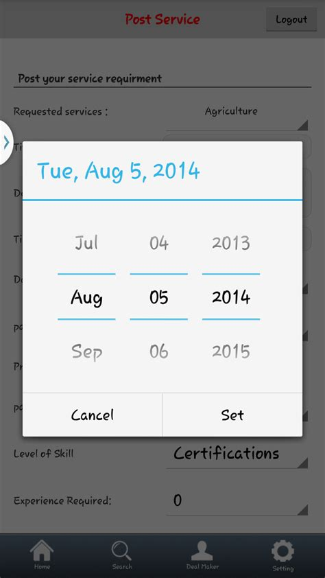 android datepicker datepicker is displayed in android 4 3 stack overflow