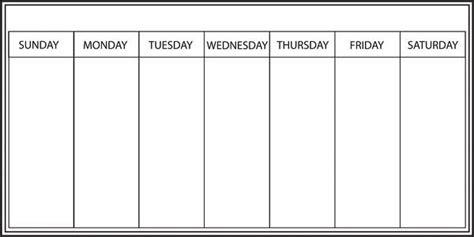 whiteboard weekly calendar decal window film world
