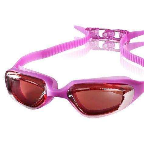 Mainan Kacamata Renang Anak kacamata renang electroplating anak dan dewasa purple jakartanotebook