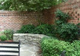 stacked stone bench stacked stone bench brick wall brick by brick pinterest