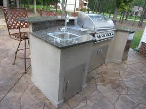 outside kitchen island 37 best outdoor kitchen kits of 2017 ward log homes