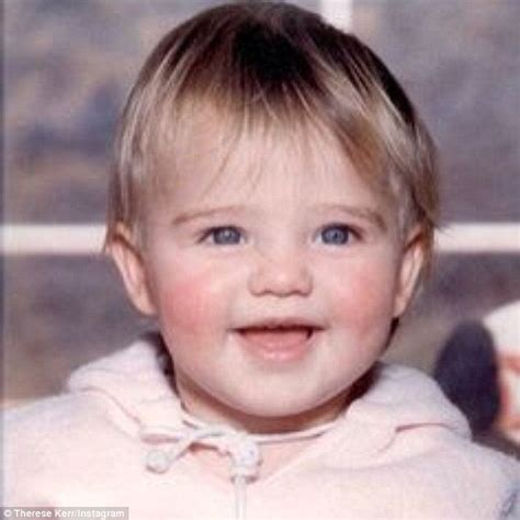 young pics miranda kerr s mother shares childhood snap of model to