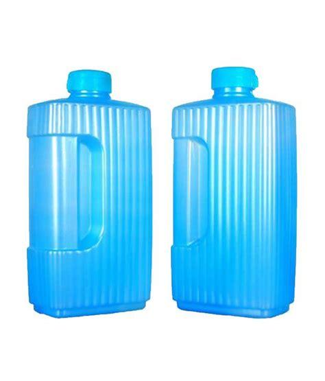 litter blue light kalyaniware light blue 2 liter plastic water bottle
