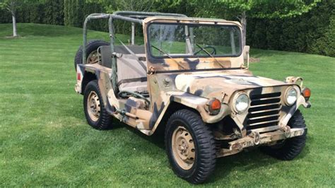 Mutt Jeep Ford M151a2 Mutt Is An Uncommon Vintage