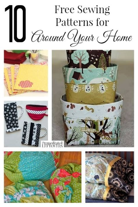 home decor sewing 10 free home decor sewing patterns