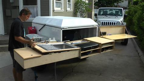 offroad teardrop cer dominion offroad trailer kitchen youtube autos post