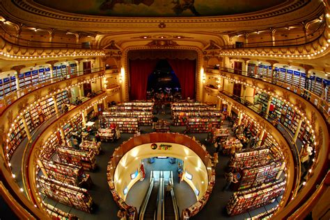libreria ateneo palermo el ateneo buenos aires imaginem uma biblioteca dentro